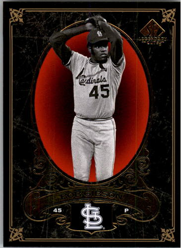 Photo of 2007 SP Legendary Cuts #92 Bob Gibson