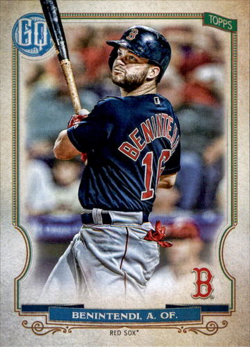 Photo of 2020 Topps Gypsy Queen #117 Andrew Benintendi
