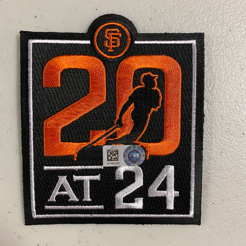 Photo of 20 at 24 Team issued Patch