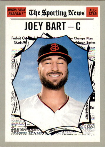 Photo of 2019 Topps Heritage Minors #182 Joey Bart AS