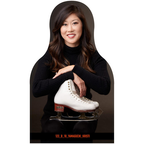 Photo of Giants Community Fund: Giants Kristi Yamaguchi Cutout