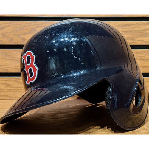 Photo of Bobby Dalbec #83 Team Issued Batting Helmet