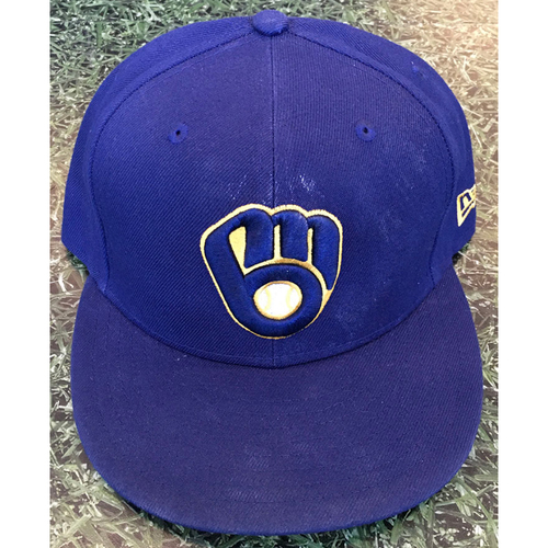 Photo of #18 2020 Team-Issued Milwaukee Brewers Cap