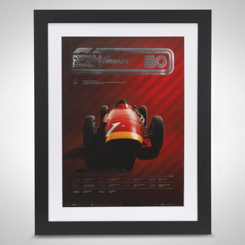 Photo of 70th Anniversary Automobilist Poster 1950-1959