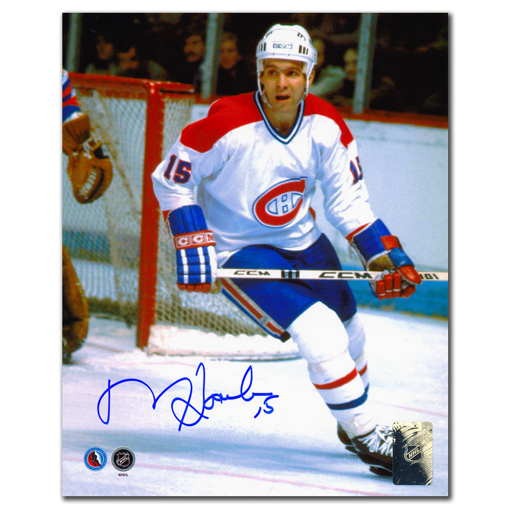 Rejean Houle Montreal Canadiens RUSH Autographed 8x10