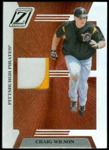 Photo of 2005 Zenith Z-Jerseys Prime #7 Craig Wilson/150