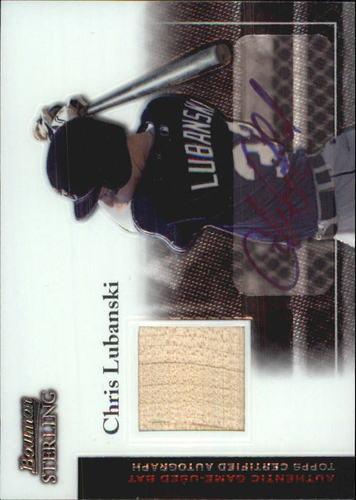 Photo of 2004 Bowman Sterling #CL Chris Lubanski AU Bat