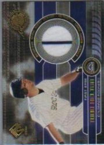 Photo of 2001 Private Stock Game Gear #60 Todd Helton Jsy