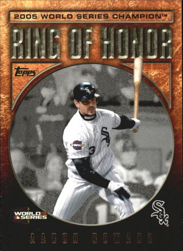 Photo of 2009 Topps Ring Of Honor #RH74 Aaron Rowand
