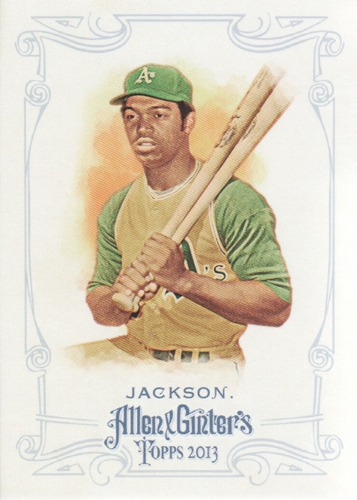 Photo of 2013 Topps Allen and Ginter #150 Reggie Jackson