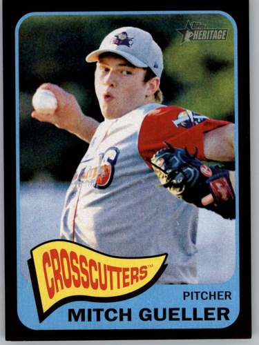 Photo of 2014 Topps Heritage Minors Black #101 Mitch Gueller