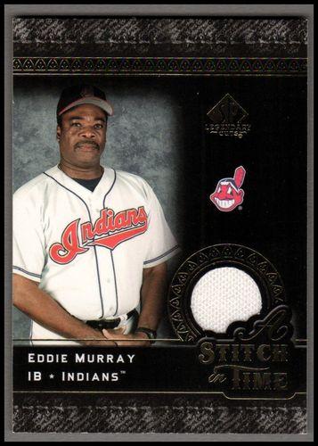 Photo of 2007 SP Legendary Cuts A Stitch in Time Memorabilia #EM Eddie Murray