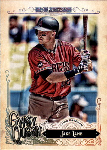 Photo of 2017 Topps Gypsy Queen #87 Jake Lamb