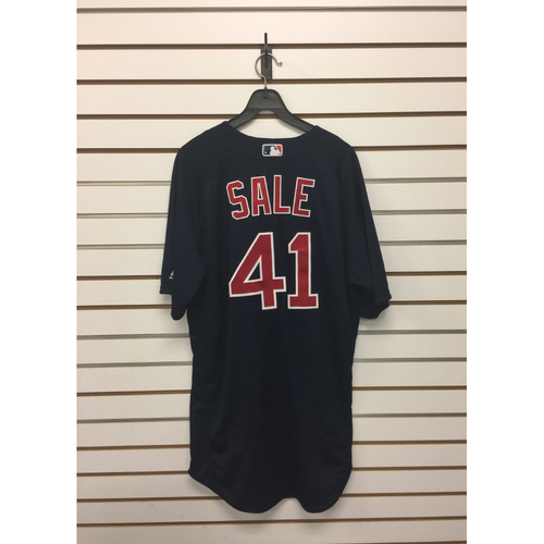 Chris Sale Game-Used September 15, 2017  Road Alternate Jersey