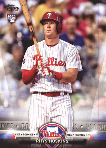Photo of 2018 Topps Salute #TS78 Rhys Hoskins