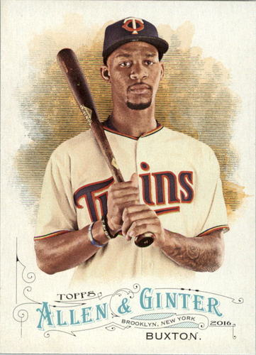 Photo of 2016 Topps Allen and Ginter #104 Byron Buxton