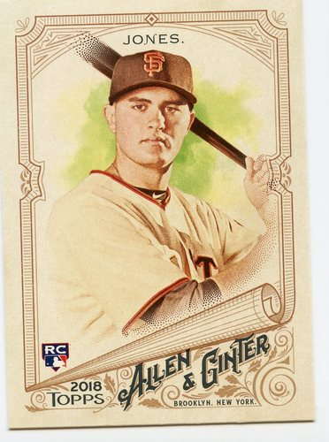 Photo of 2018 Topps Allen and Ginter #330 Ryder Jones SP RC