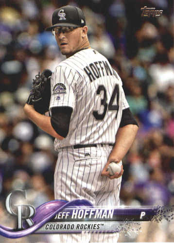 Photo of 2018 Topps #356 Jeff Hoffman