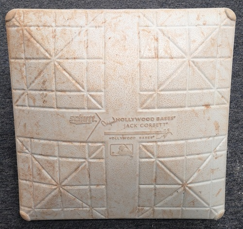 Photo of Authenticated Game Used Base - June 5, 2018 vs New York Yankees. 3rd Base for Innings 1 to 3.