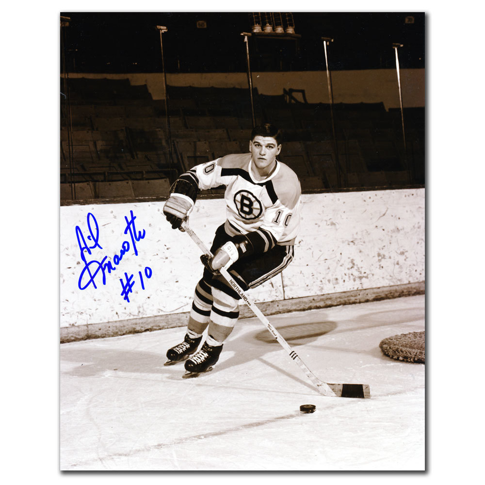 Gilles Marotte Boston Bruins Autographed 8x10