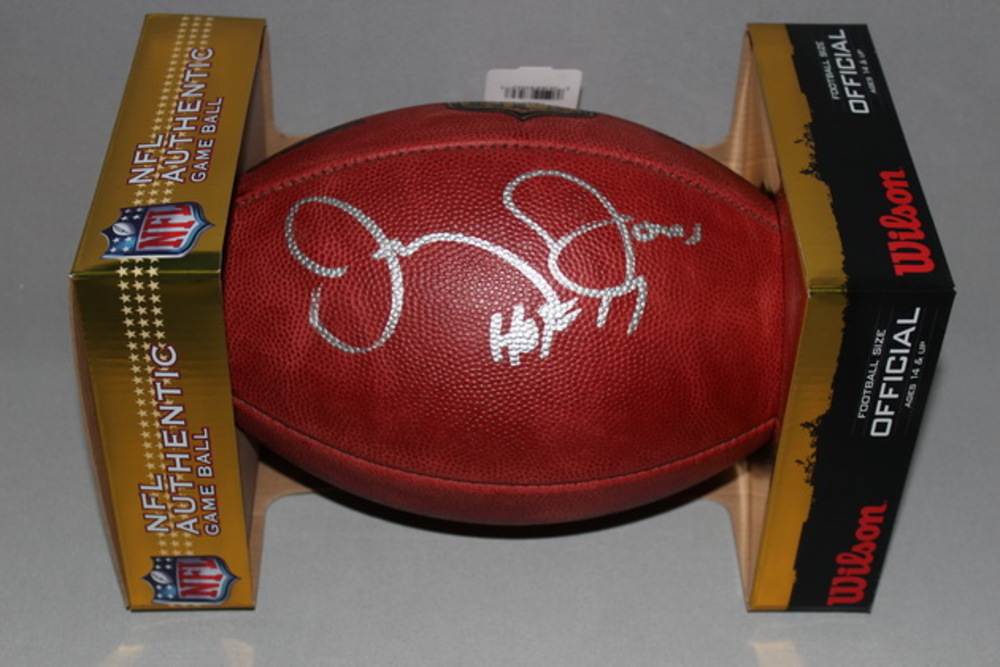HOF - COWBOYS JERRY JONES SIGNED AUTHENTIC FOOTBALL