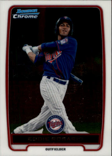 Photo of 2012 Bowman Chrome Prospects #BCP9 Eddie Rosario Pre-Rookie Card