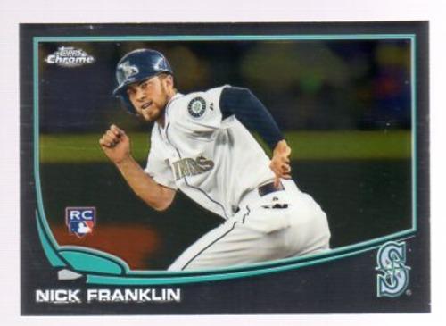 Photo of 2013 Topps Chrome #154 Nick Franklin RC