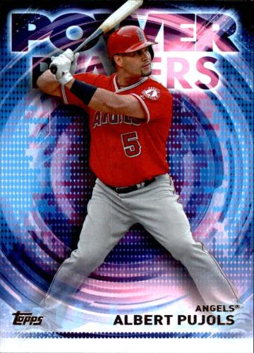 Photo of 2014 Topps Update Power Players #PPAAP Albert Pujols
