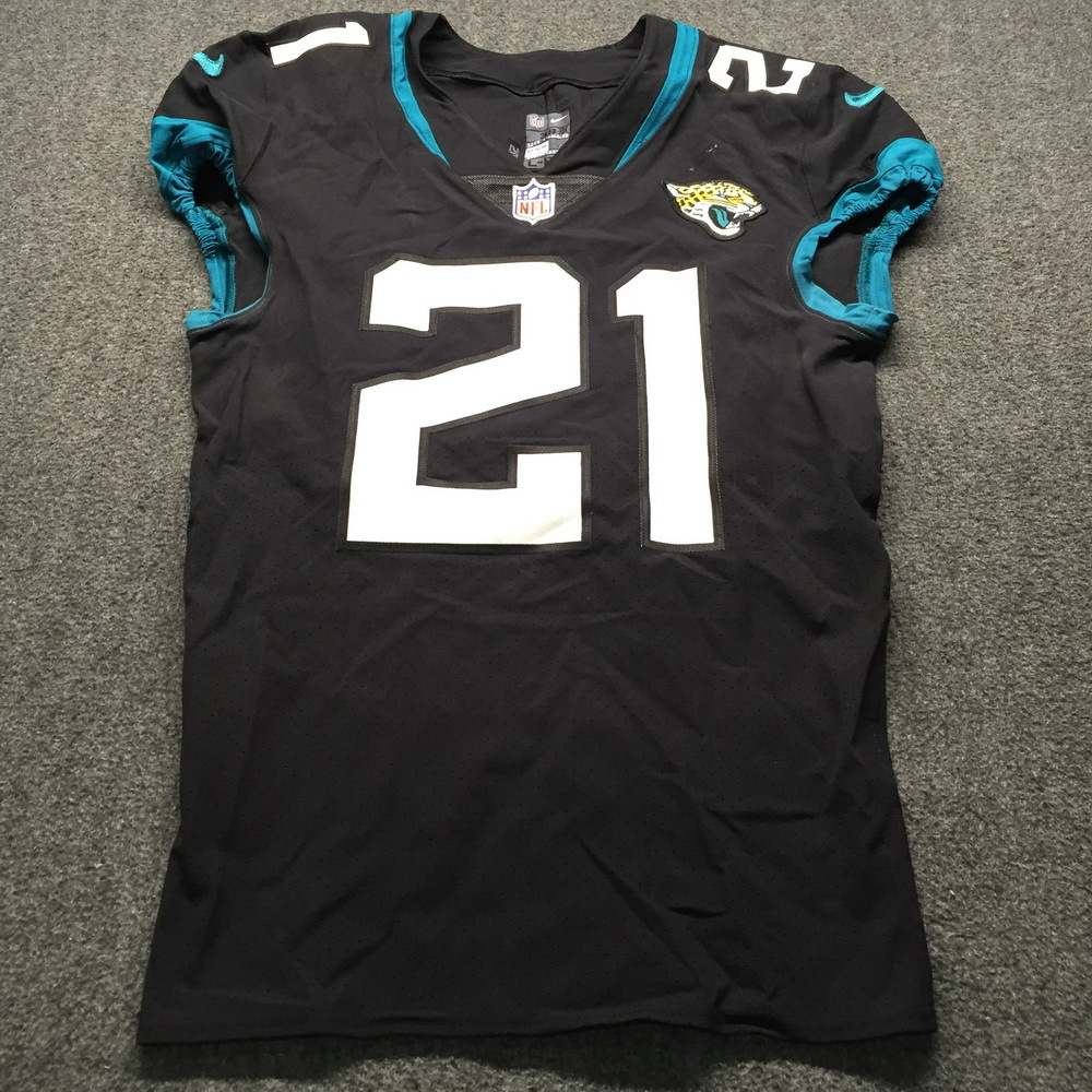 STS - Jaguars A.J. Bouye Game Used Jersey (12/02/18) Size 38