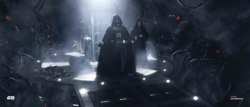 Darth Sidious and Darth Vader