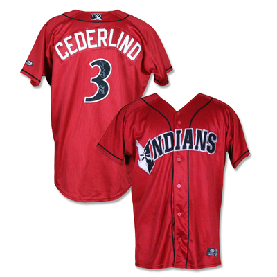 #3 Blake Cederlind Autographed Game Worn Jersey