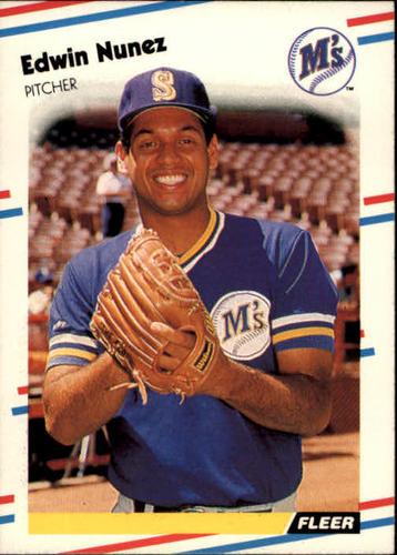 Photo of 1988 Fleer #383 Edwin Nunez
