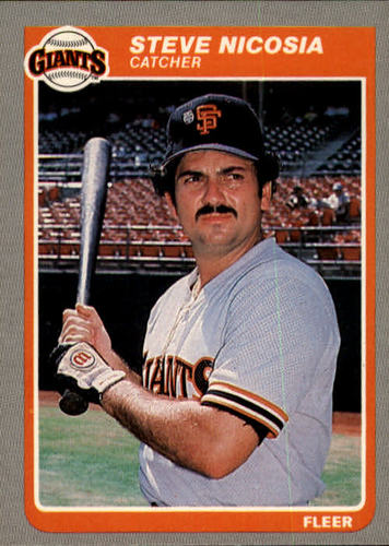 Photo of 1985 Fleer #618 Steve Nicosia