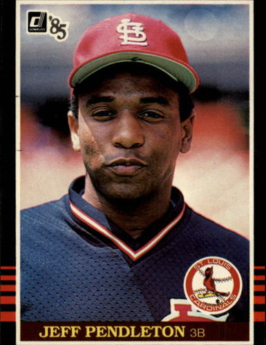 Photo of 1985 Donruss #534A Terry Pendleton RC/ERR Wrong first name as Jeff
