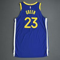 Draymond Green - Golden State Warriors - Game-Worn Icon Edition Jersey - 2019-20 Season