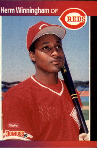Photo of 1989 Donruss #435 Herm Winningham