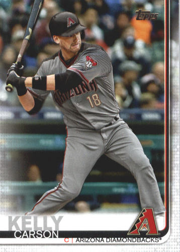 Photo of 2019 Topps #474 Carson Kelly
