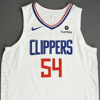 Patrick Patterson - Los Angeles Clippers - Game-Worn Association Edition Jersey - NBA Canada Series - 2019-20 NBA Preseason