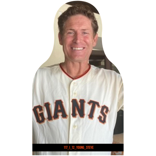 Photo of Giants Community Fund: Giants Steve Young Cutout