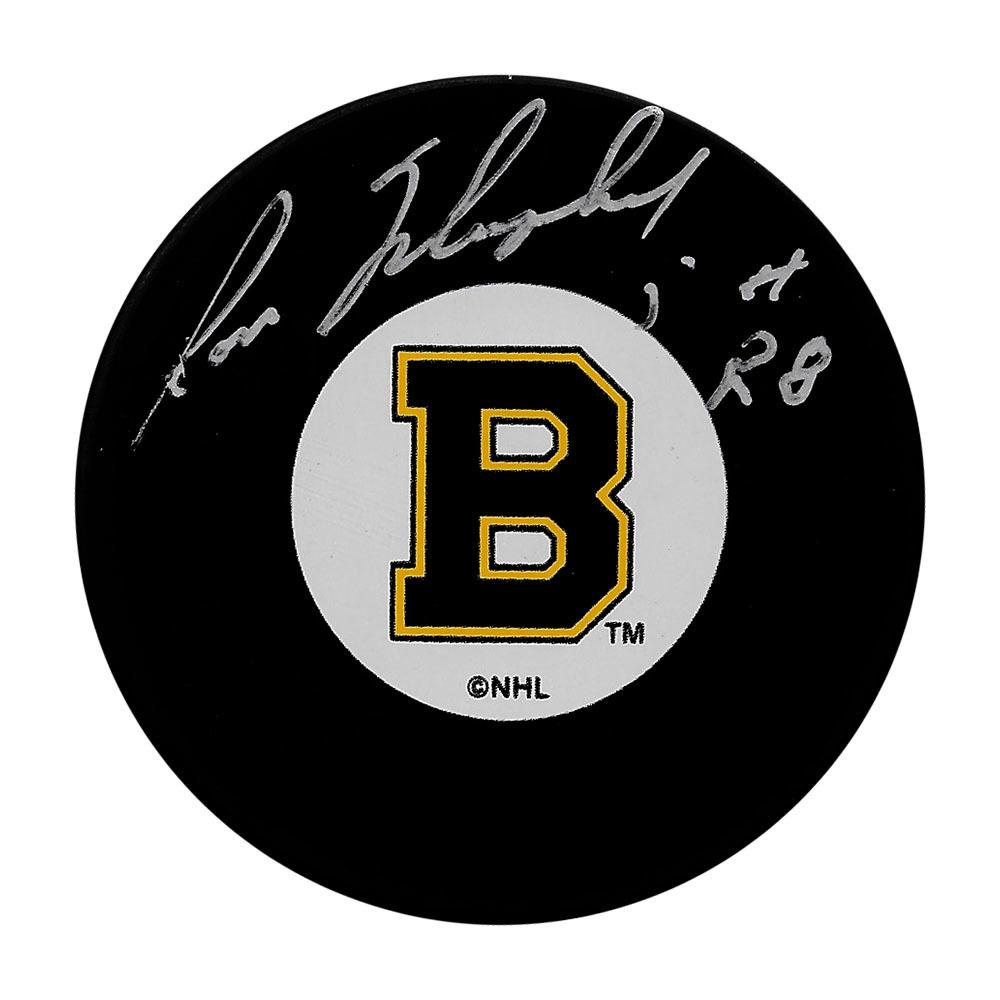 Ron Murphy Autographed Boston Bruins Puck