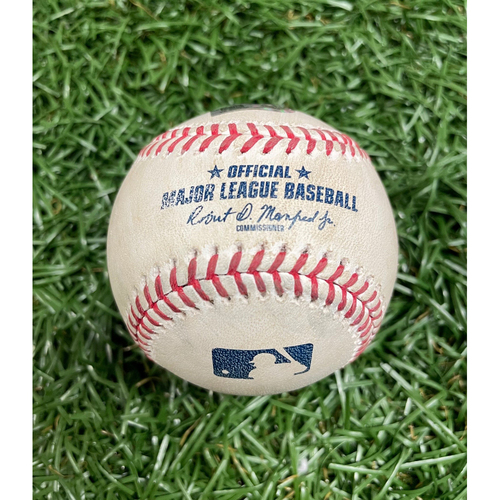 Photo of Game Used Baseball: First All Female Broadcast in MLB History - July 20, 2021 v BAL (See Description for Details)