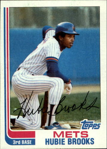 Photo of 1982 Topps #494 Hubie Brooks