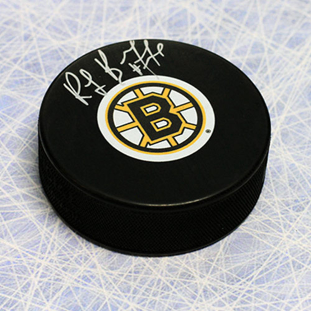 Ray Bourque Boston Bruins Autographed Hockey Puck