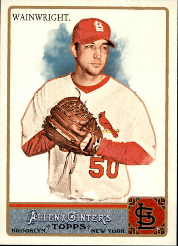 Photo of 2011 Topps Allen and Ginter #280 Adam Wainwright