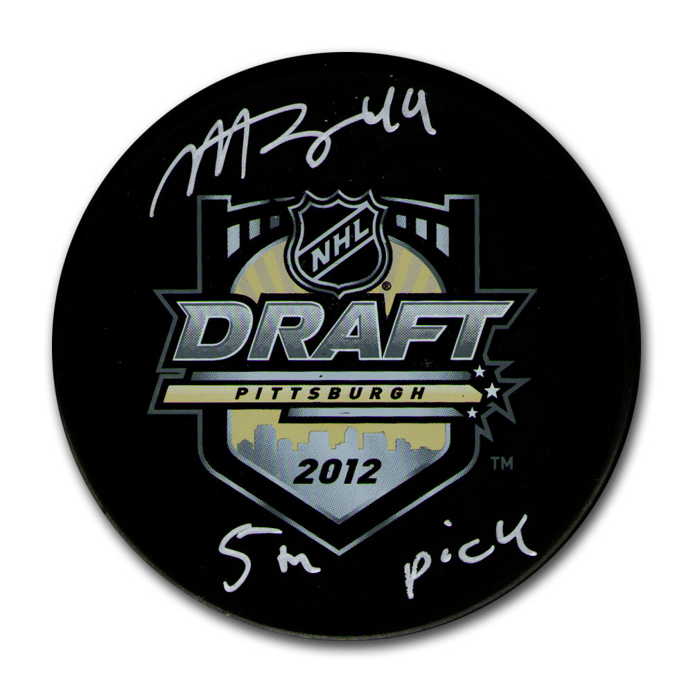 Morgan Rielly Autographed 2012 NHL Entry Draft Puck w/
