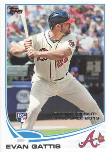 Photo of 2013 Topps Update #US87 Evan Gattis Rookie Card