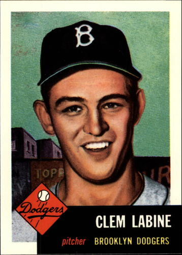 Photo of 1991 Topps Archives 1953 #14 Clem Labine