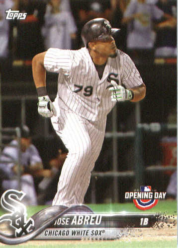 Photo of 2018 Topps Opening Day #30 Jose Abreu