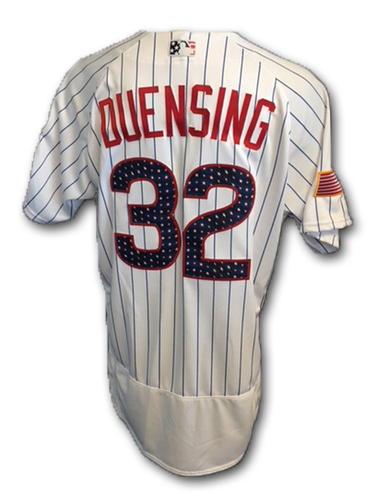 Photo of Brian Duensing Stars and Stripes Team-Issued Jersey