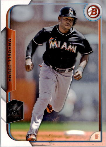 Photo of 2015 Bowman #91 Marcell Ozuna